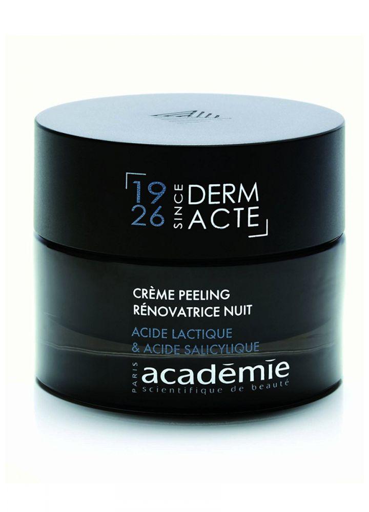 Ночной обновляющий крем-эксфолиант - Academie Creme peeling renovatrice nuit acide lactique 50 ил