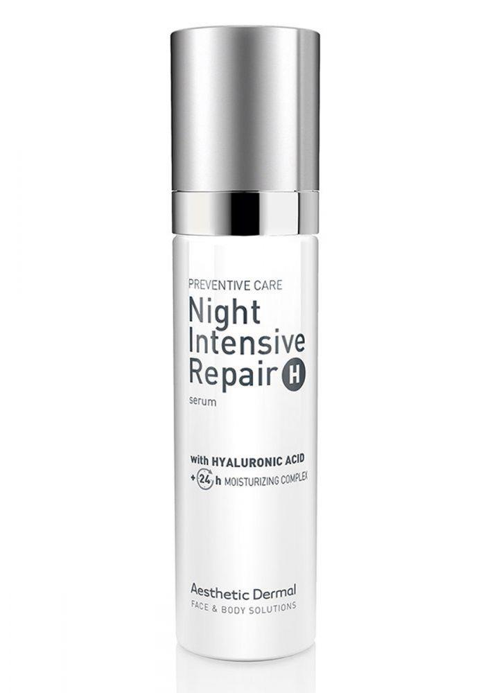 Ночная интенсивная восстанавливающая сыворотка с гиалуроновой кислотой