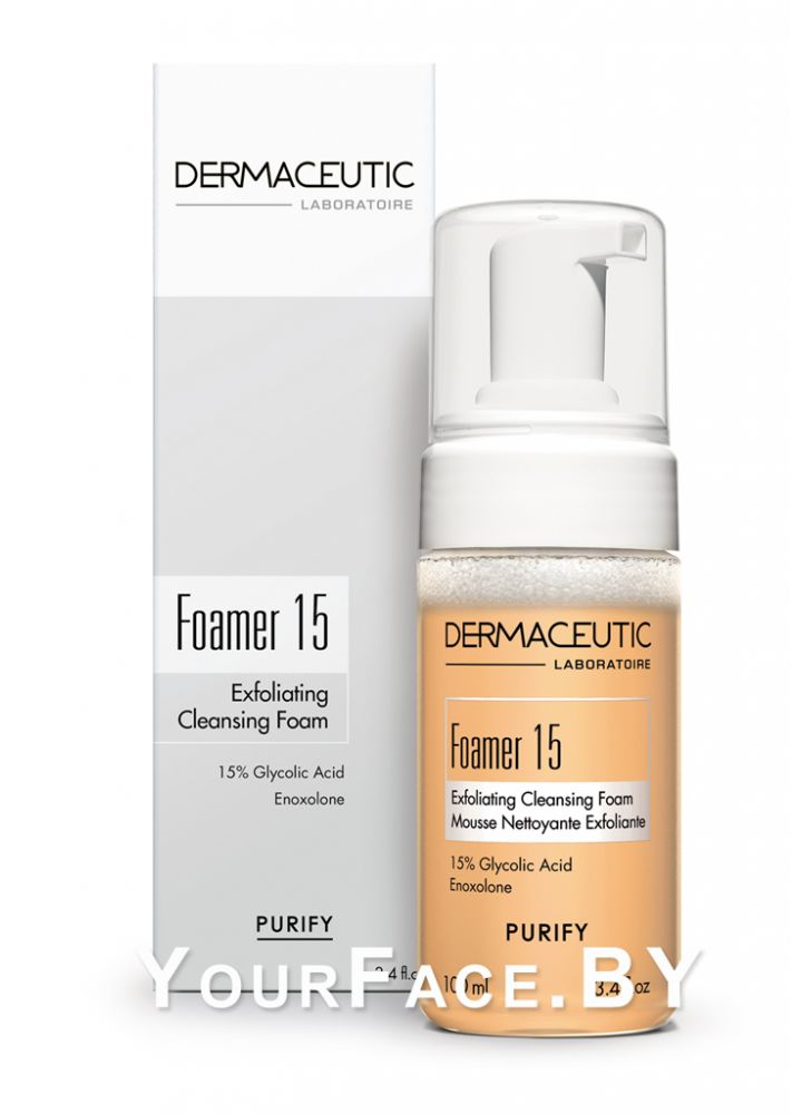 Dermaceutic очищающая пенка Foamer 15, 100мл