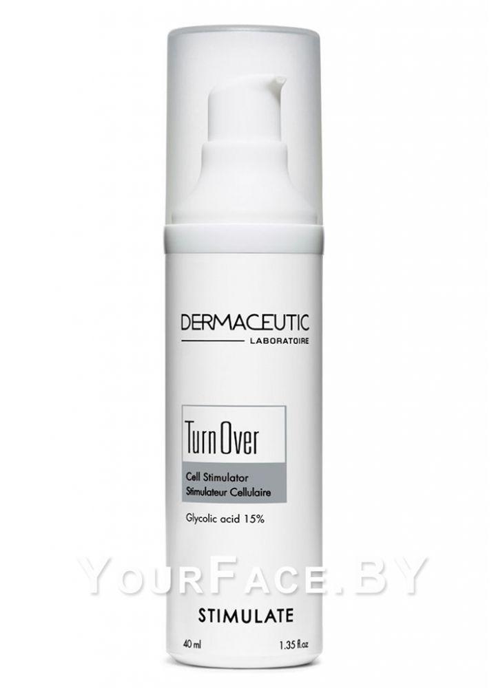 Ночной стимулирующий крем с кислотами - Dermaceutic Turn Over