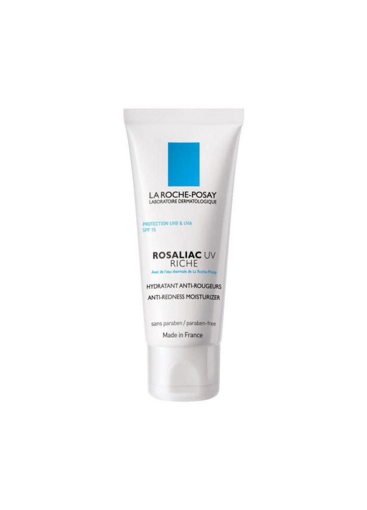 Увлажняющее средство для усиления защитной функции кожи склонной к покраснениям SPF15 ROSALIAC UV RICHE La Roche-Posay